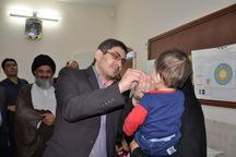 ایمن سازی تکمیلی فلج اطفال در کاشان آغاز شد