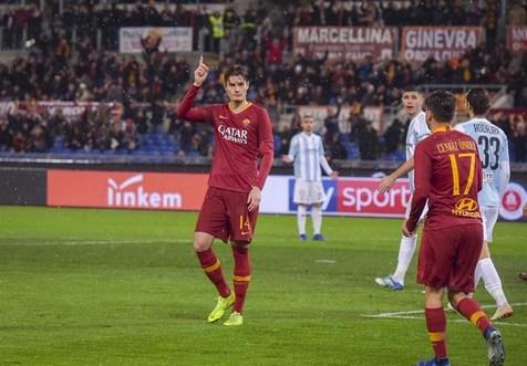 صعود قاطعانه رم به مرحله یک چهارم نهایی جام حذفی ایتالیا