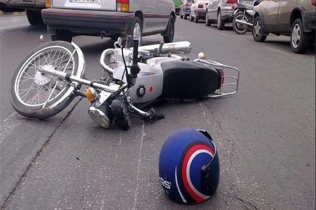 تصادف خودروهای سواری با موتورسیکلت در تهران یک کشته داشت