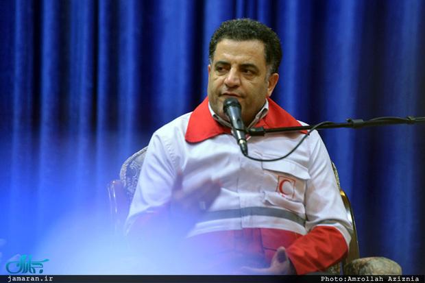 توضیح رئیس هلال احمر در خصوص چند برابر شدن فعالیت هلال احمر برای زائران در عراق