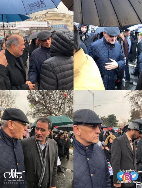 عکس/ سیدعلی خاتمی رییس دفتر رییس جمهور اصلاحات در راهپیمایی ۲۲ بهمن
