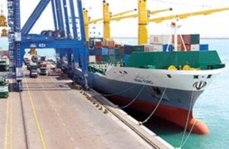 نخستین محموله گندم صادراتی ایران به مقصد عمان بندر امام را ترک کرد