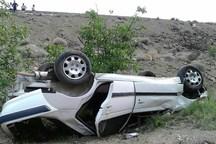واژگونی خودرو در محور بروجرد - اراک یک کشته و ۴ مجروح برجای گذاشت