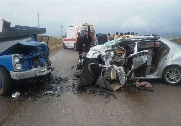 افزایش 35 درصدی شمار فوتیهای تصادفات رانندگی در شهرهای خراسان شمالی