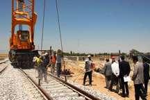 پیشرفت طرح خط آهن مراغه - ارومیه در دولت روحانی با 10 سال گذشته برابری می کند
