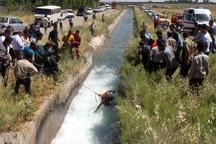 آبتنی مرگبار در کانال های قزوین