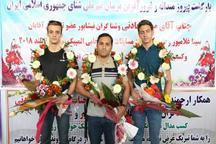 شناگران طلایی خراسان در مشهد استقبال شدند