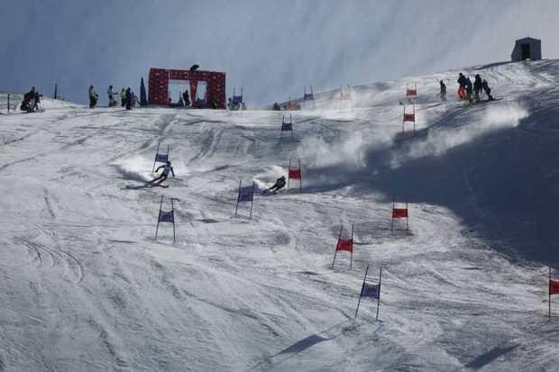 رقابت های اسکی جام کیا گالری برترین های خود را شناخت