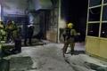 آتشسوزی 16 مغازه در پاساژ قائم شازند