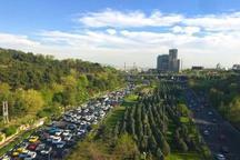 کیفیت هوای تهران با شاخص 58 سالم است