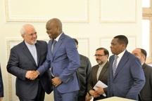 دیدار وزیر امور خارجه توگو با دکتر ظریف