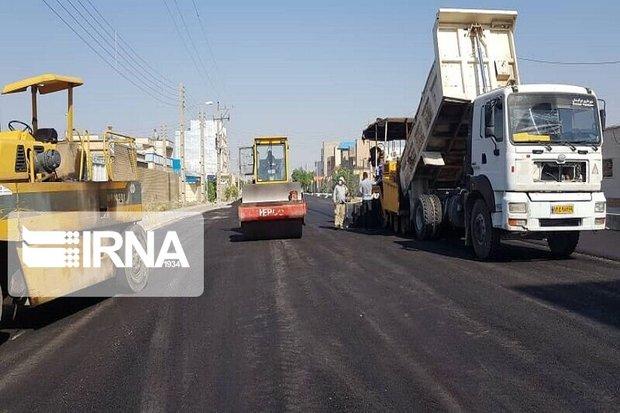 ۴۵ هزار مترمربع معابر شهری دیواندره لکهگیری و آسفالت شد