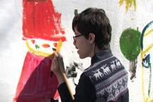 آثارنقاشی توان خواهان ذهنی درفرهنگسرای شفق به نمایش درمی آید