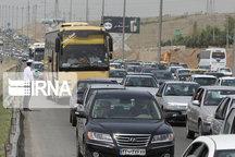 ترافیک در جادههای هراز و کندوان