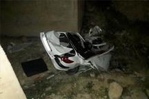کشته و زخمی شدن 5 نفر در تصادف رانندگی دهدشت - خیرآباد کهگیلویه و بویراحمد