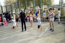 همایش پیاده روی بانوان در مشکین دشت