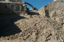 تخریب بافت قدیمی روستای عباس آِباد و فرومد میامی