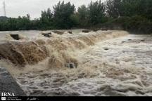 8 رودخانه خراسان رضوی سیلابی شد