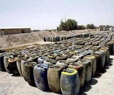 کشف بیش از 18 هزار لیتر سوخت قاچاق در محل نگهداری دام در مرودشت