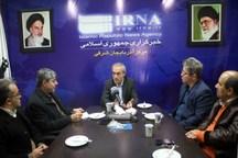 استاندار آذربایجان شرقی: مدیران در اتاق شیشه ای نشسته اند  ایرنا مورد اعتماد مردم و مسوولان است