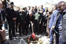 ساماندهی چهارمین گلزار شهدای کشور درکرج کلید خورد