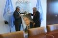 خوشرو در آخرین دیدار رسمی با گوترش: دبیرکل سازمان ملل نسبت به قانون گریزی آمریکا موضع گیری کند