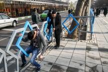 نرده های چهارراه ولیعصر تهران به شرط همکاری مردم حذف می شوند