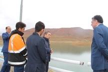 وضعیت سد ساروق تکاب پایدار و تحت کنترل است