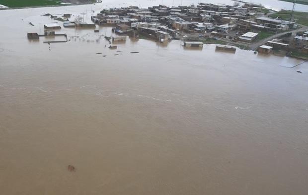 ارتباط 52 روستای شهرستان کرمانشاه همچنان قطع است