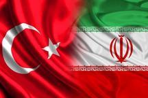 هدف ایران تجارت 30 میلیارد دلاری با ترکیه است