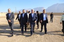 وزیر نیرو از طرح تأمین آب پنج شهر کهگیلویه و بویراحمد بازدید کرد
