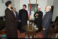 دیدار سید حسن خمینی با رهبران مذهبی صربستان