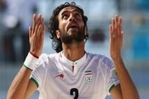 بازیکن اصفهانی نامزد معرفی زننده بهترین گل فوتبال ساحلی جهان شد