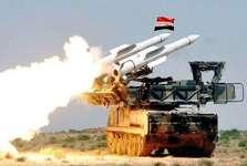 پدافند ارتش سوریه تجاوز هواپیماهای اسرائیلی به جنوب دمشق را دفع کرد
