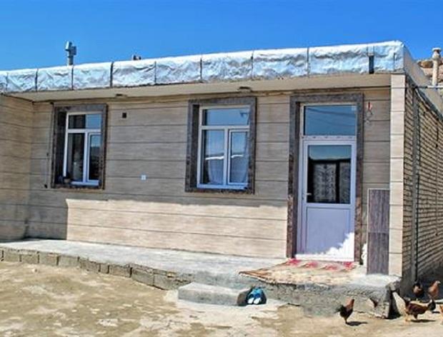 کمیته امداد خراسان شمالی239 واحد مسکن برای سیل زدگان می سازد
