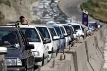 محدودیتهای ترافیکی آخر هفته در محور کرج - چالوس