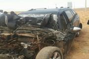 تصادف خودرو سواری با مینیبوس در قزوین ۴ مجروح بر جای گذاشت