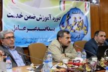 جمعیت هلال احمر خوزستان ظرفیت وسیعی در حوزه پدافند غیر عامل دارد