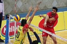 تیم والیبال دورنای ارومیه مقابل کاله مازندران باخت