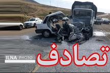 13 کشته و مجروح در تصادف زنجیره ای اتوبان ساوه-تهران