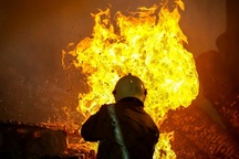 اتوبوس مسافربری تهران – مریوان در آتش سوخت