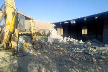 15 هزار متر مربع از اراضی کشاورزی بجنورد آزادسازی شد