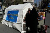 راه اندازی 9 پایگاه جلب مشارکت های مردمی بهزیستی همدان برای کمک به زلزله زدگان