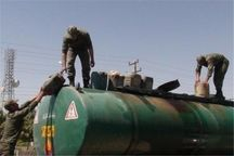 ۱۹ کامیون نفتکش حامل سوخت قاچاق در میناب توقیف شد