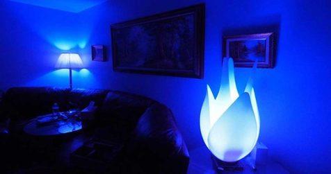 تمدد اعصاب با نور آبی پس از یک مشاجره!