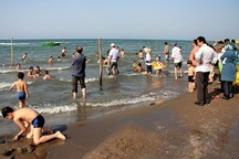 شنا در دریای خزر آغازشد