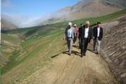 فرماندار تالش: بهسازی راه دو روستای عشایری در دستور کار است
