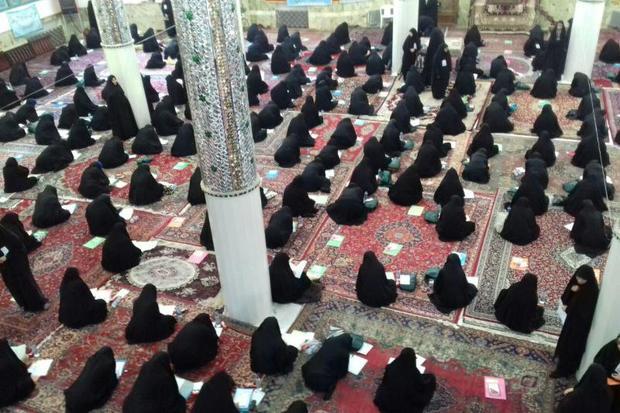 آزمون سراسری قرآن و عترت در شاهرود برگزار شد