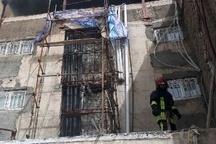 آتشسوزی در مجموعه اقامتی 5 طبقه در مشهد