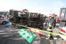 حادثه رانندگی در جاده نوشهر-رویان یک کشته و 2 زخمی برجای گذاشت